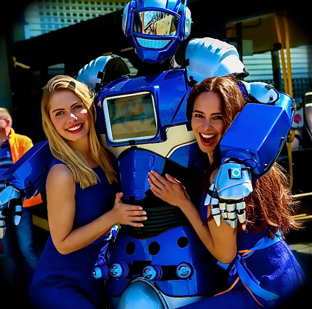 ROBOT huren voor uw evenement